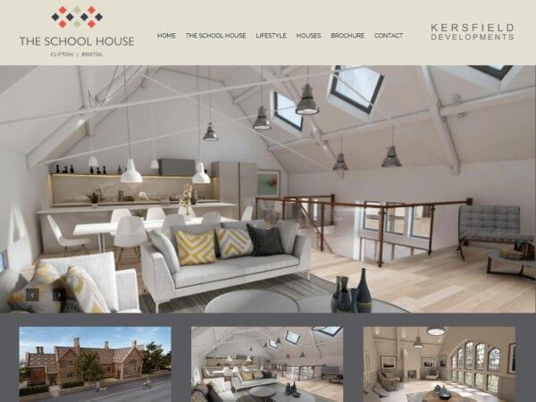 Web Development for School House Clifton