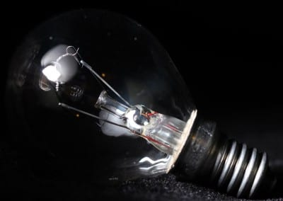 Macro Lightbulb Shot