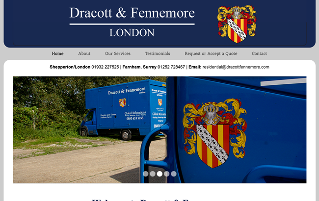 Web Development for Dracott and Fennemore