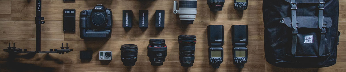 Photography equipment hire, Bournemouth, Dorset