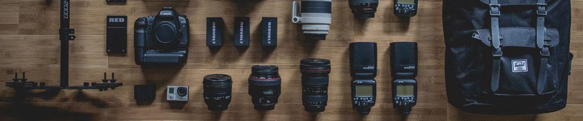 Photography equipment hire, Bournemouth, Dorset