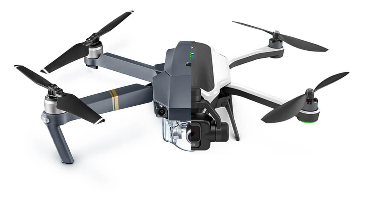 Gopro Karma Vs Dji Mavic Pro Drone Which Drone To Buy