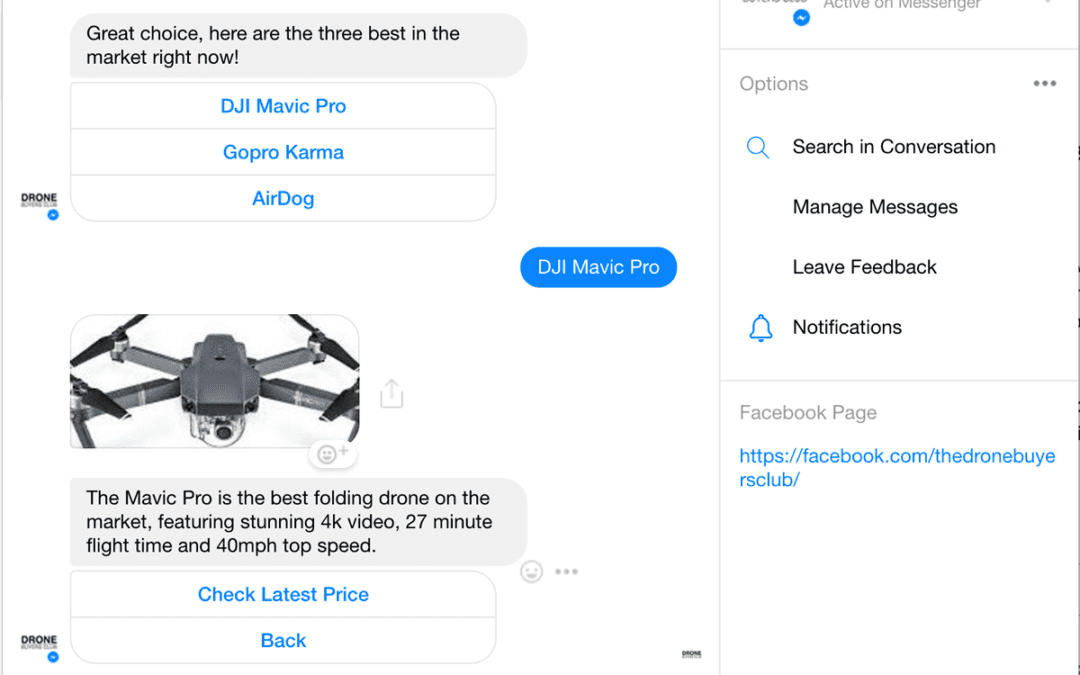 Using Facebook Bots | AI Meets Customer Service