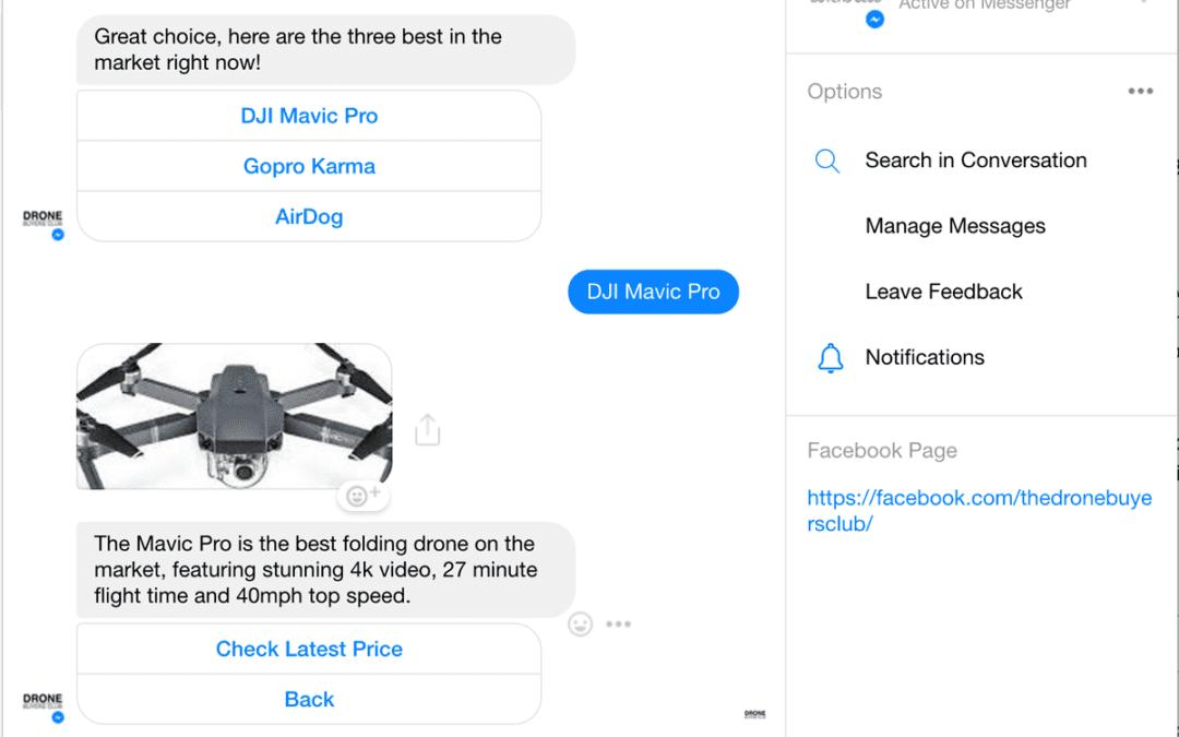 Using Facebook Bots | AI Meets Customer Service