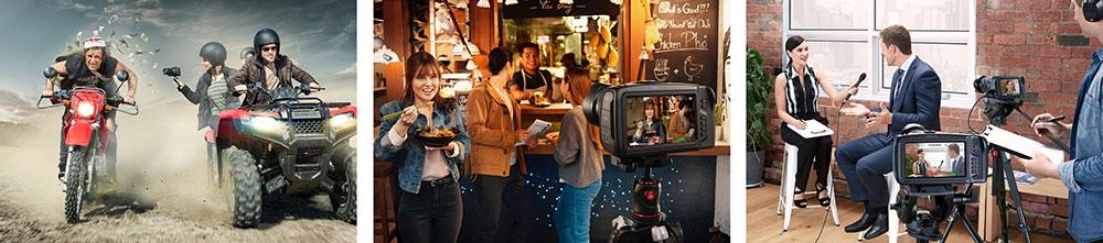 Black Magic Pocket Cinema Camera 4K Uses