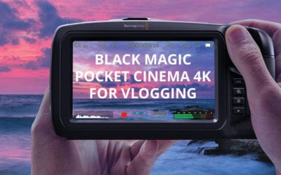 Black Magic Pocket Cinema Camera 4K (BMPCC 4K) For Vlogging
