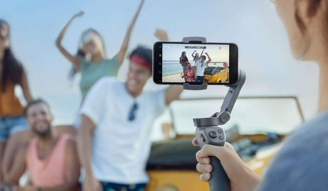 Using an external mic with the DJI Osmo Mobile 3