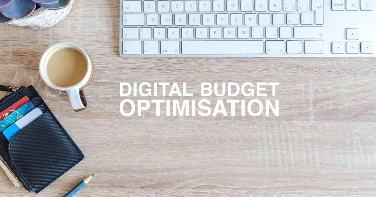 Digital budget spend optimisation