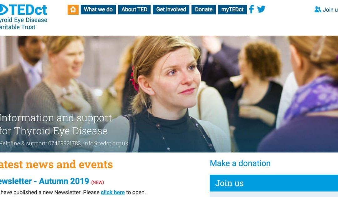 TEDct Charity: Web Development Project