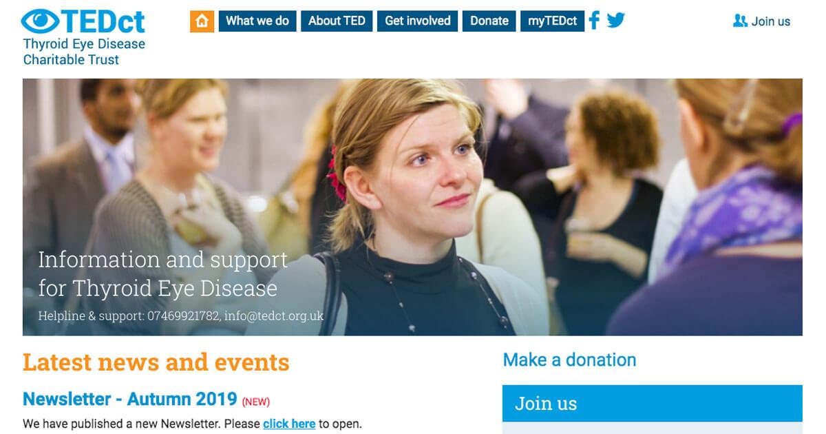 TedCT Charity - Web Development Project